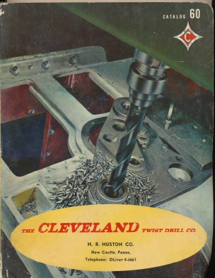1960 Cleveland Twist Drill Co Tool Catalog